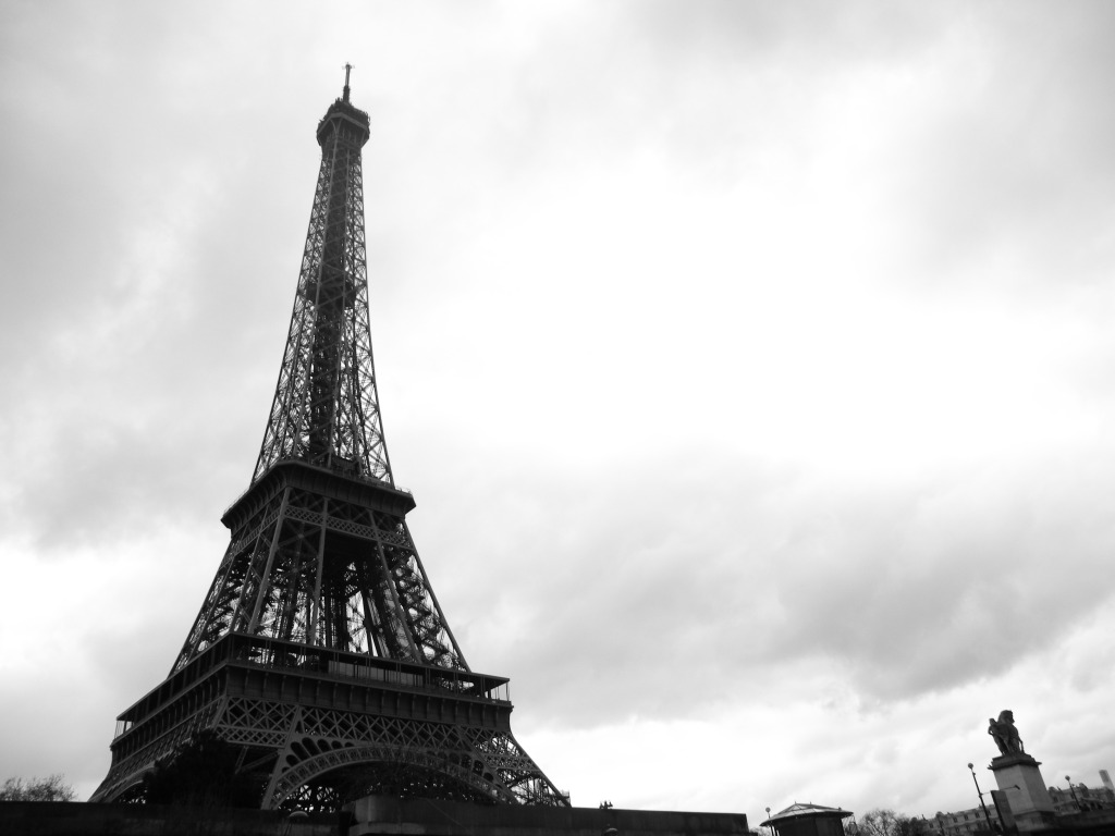 Tour Eiffel from le Seine