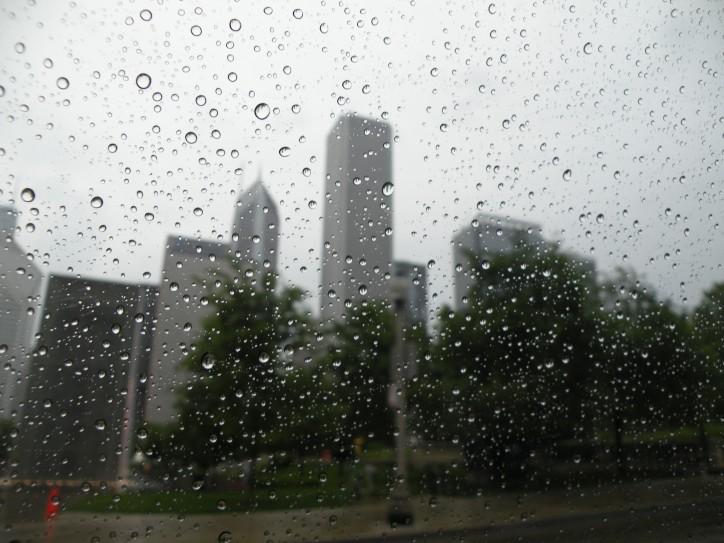 Rainy Chicago