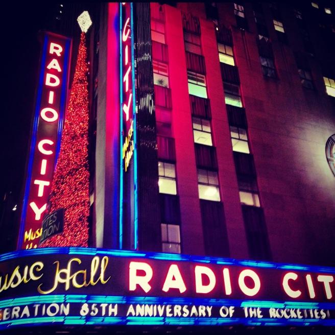 Radio City Music Hall. Image copyright Carla Ramirez