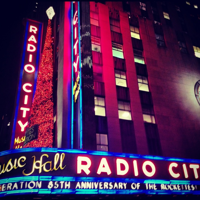 Radio City Music Hall. Image copyright Carla Ramirez