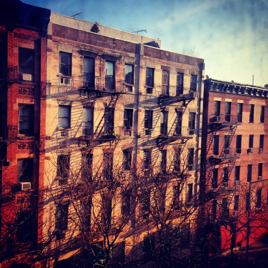 The view from my apartment. Image copyright Carla Ramirez